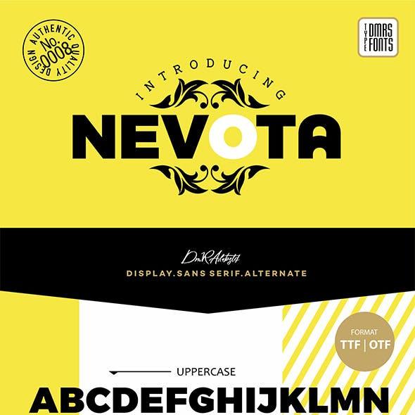 Nevota Fonts