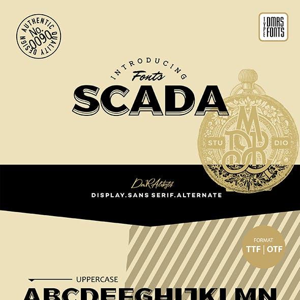 Scada Font