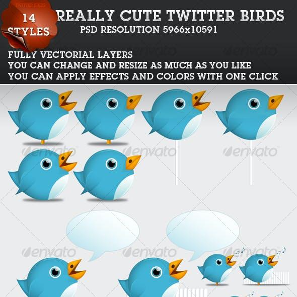 Cute Twitter Birds 1.1