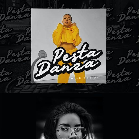 Pesta Danza - Wild Expressive Font