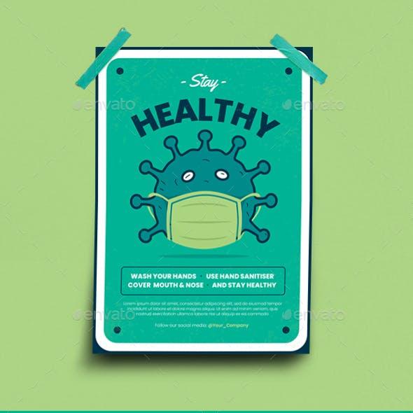 Virus Campaign Flyer