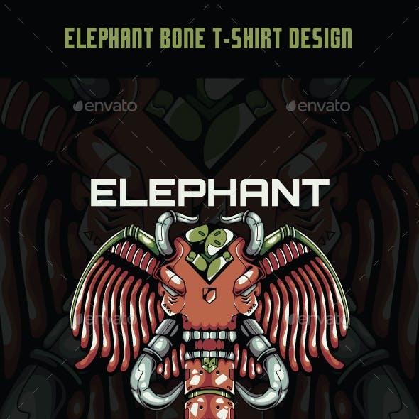 Elephant Bone T-Shirt Design