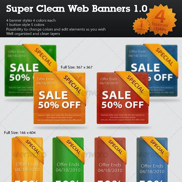 Super Clean Web Banners//Web Boxes 1.0
