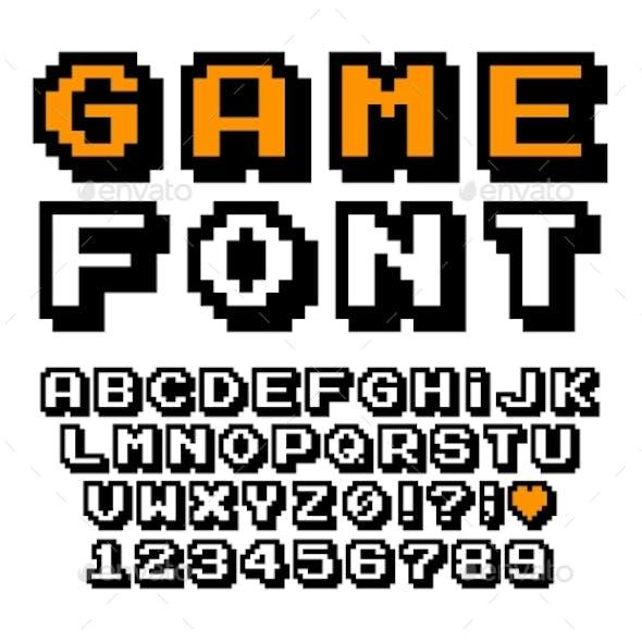 Vector Pixel Font