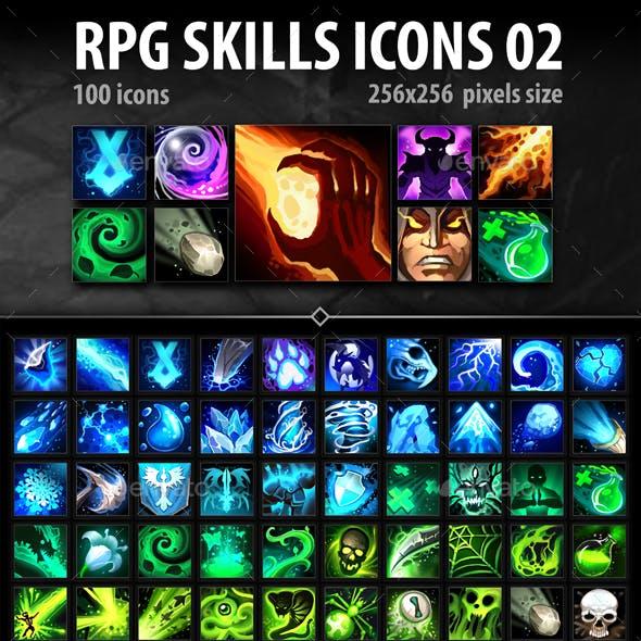 RPG Skills Icons 02