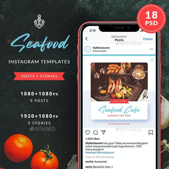 Seafood Restaurant Instagram