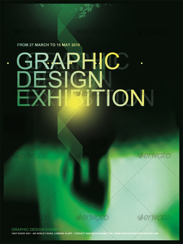 GRAPHIC DESIGN EXHIBITION POSTER/FLYER - Miscellaneous Events