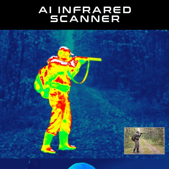 AI Infrared Scanner - Photoshop Action
