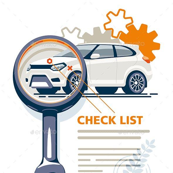 Car Diagnostics Magnifie Key Checklist
