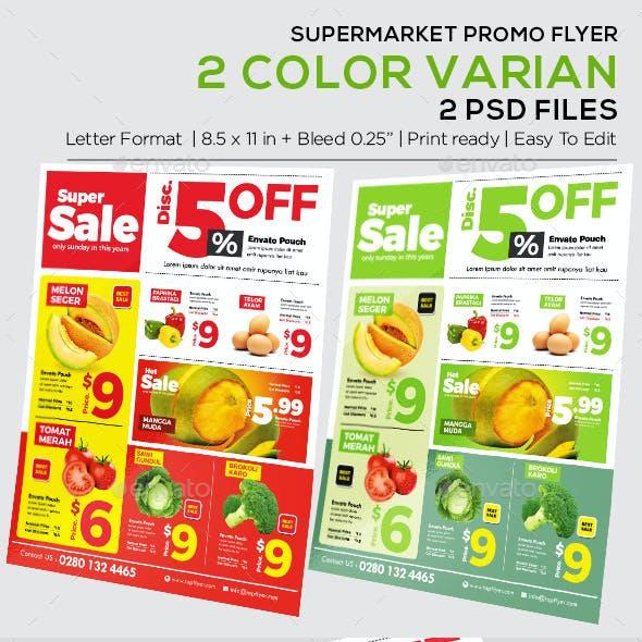 Product Flyer - Supermarket Catalog Flyer