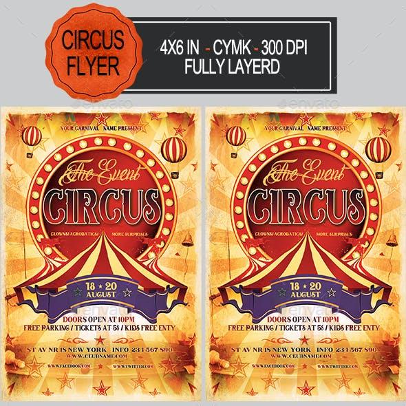 Circus Flyer