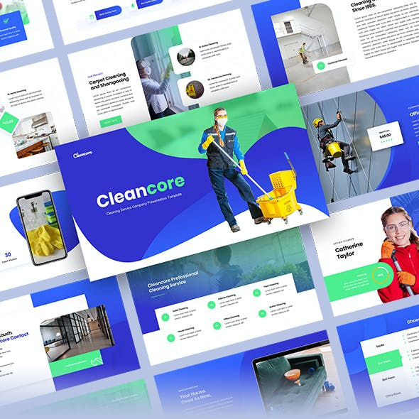 Cleancore - Cleaning Services Company Presentation