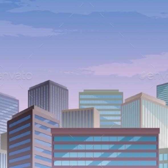 Cityscape Copy Space