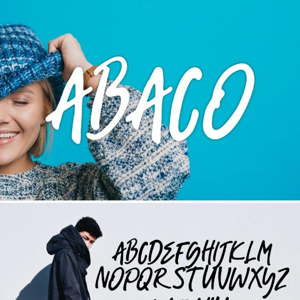 Abaco Font