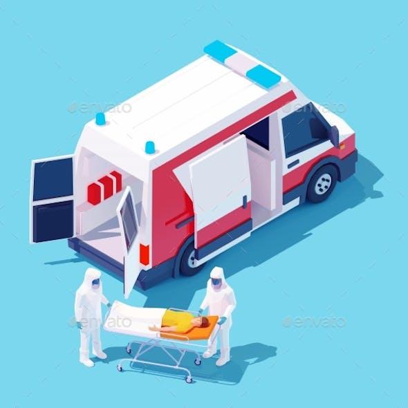 Vector Isometric Hospitalization