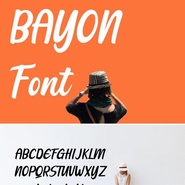 Bayon Font