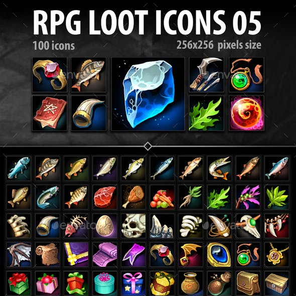 RPG Loot Icons 05