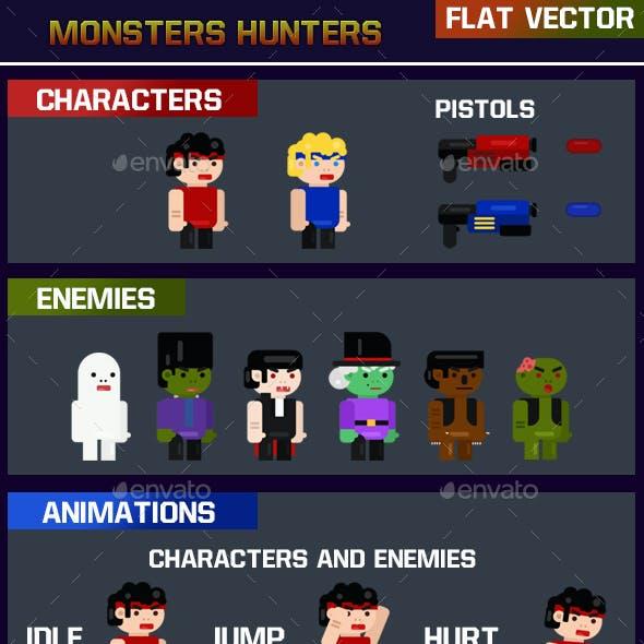 Monsters Hunters Flat