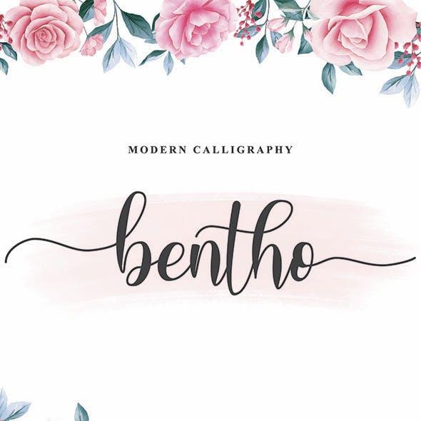 Bentho - Script Font