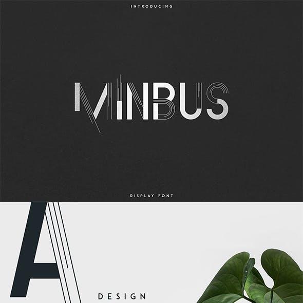 Minbus - Display font