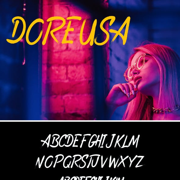 Doreusa Font