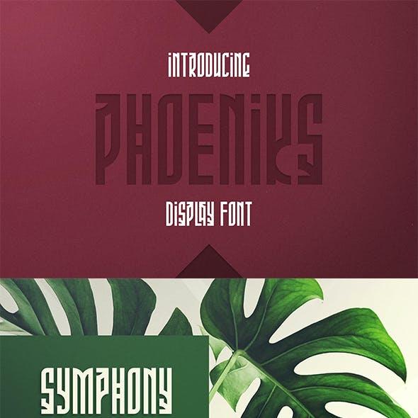 Phoeniks - Display font