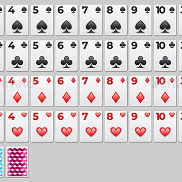 Vector Playing Cards Set