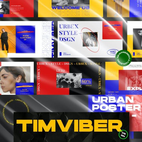 Timviber | Business Presentation Template