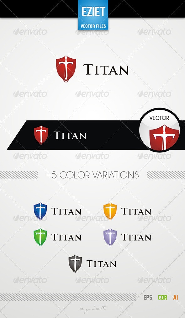 Titan Logo - Letters Logo Templates