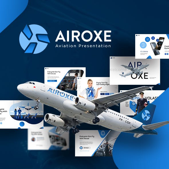 Airoxe Aviation Presentation Template