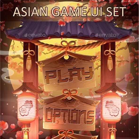 Asian Game UI Set