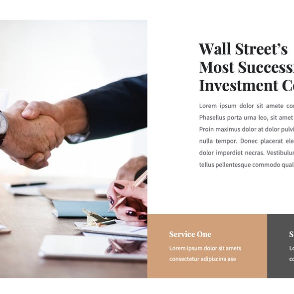 Investa - Investments PowerPoint Template
