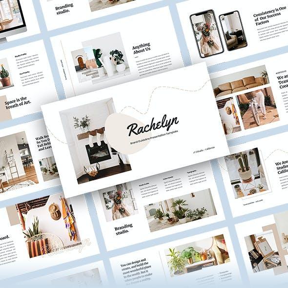 Rachelyn - Brand Guideline PowerPoint Template