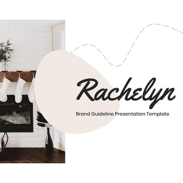 Rachelyn - Brand Guideline Keynote Template