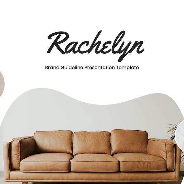 Rachelyn - Brand Guideline Google Slides Template