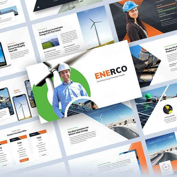 Enerco - Wind & Solar Energy Keynote Template
