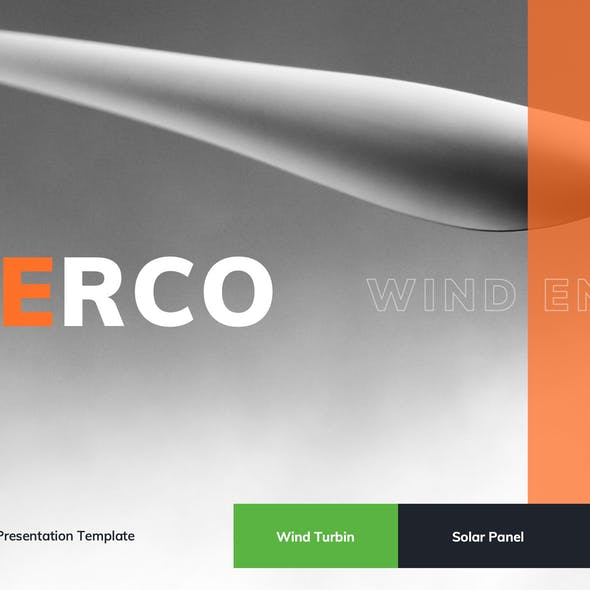 Enerco - Wind & Solar Energy Google Slides Template
