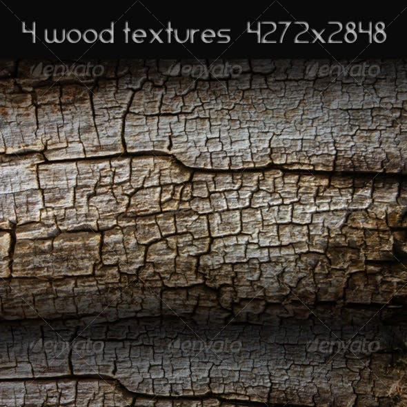 4 High Resolution Wood Textures