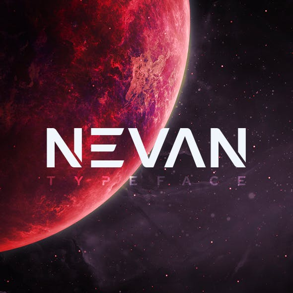 Nevan - The Logo Fonts
