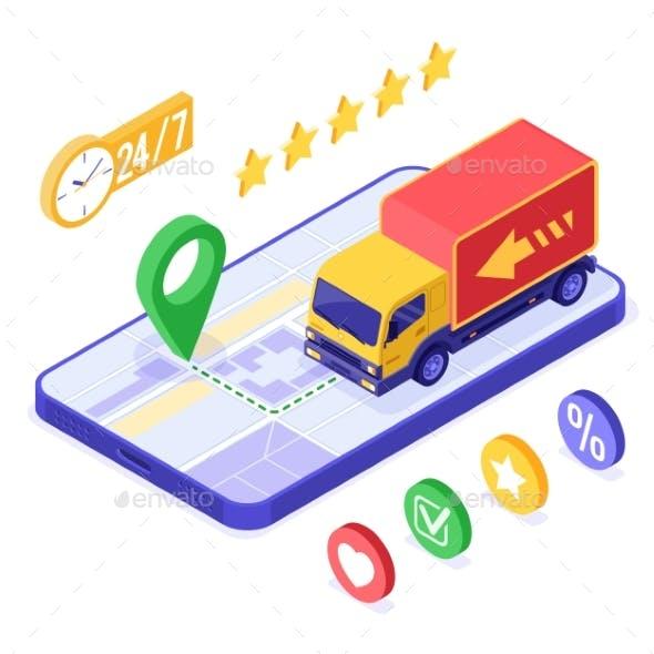 Online Order Package Delivery Service