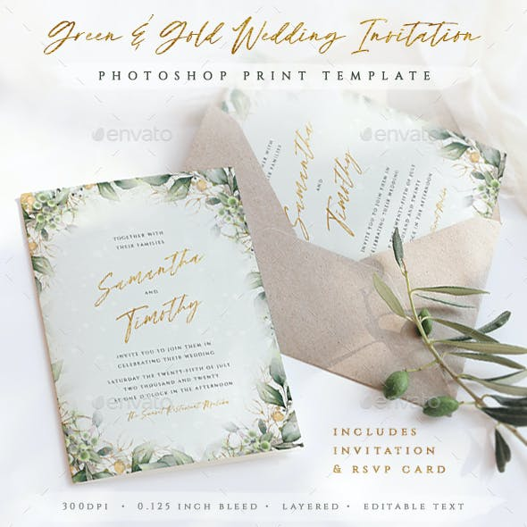 Wedding Invitation Templates from GraphicRiver