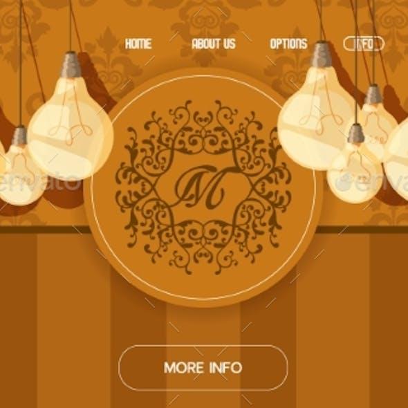 Internet Banner for Lighting Stuff, Monogram