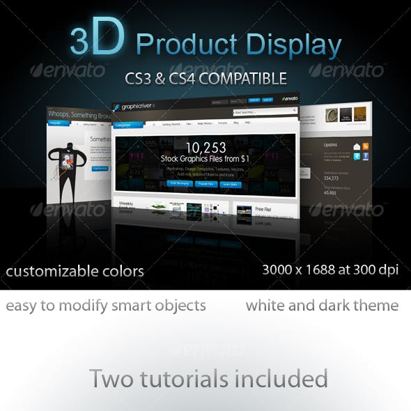 3D Product Display