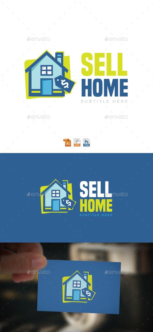 Sell Home Logo - Buildings Logo Templates
