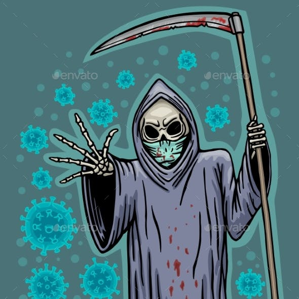 Death Sends a Deadly Virus To People