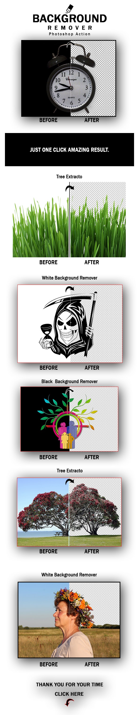 Background Remover Photoshop Action - Photo Effects Actions