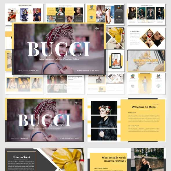 Bucci – Creative Powerpoint Template