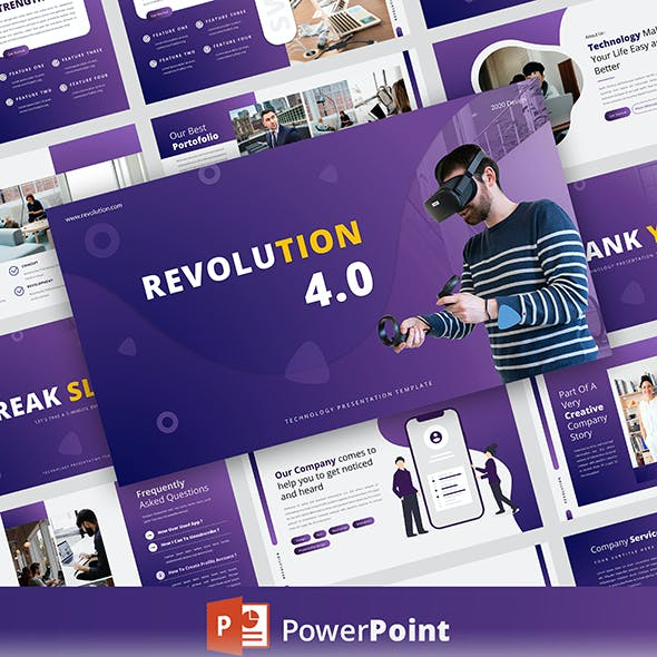 Revolution – Creative Business PowerPoint Template
