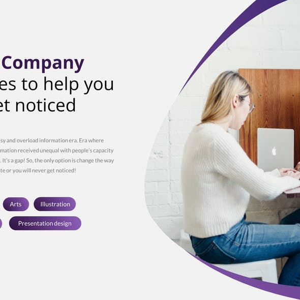 Revolution – Creative Business Google Slides Templat