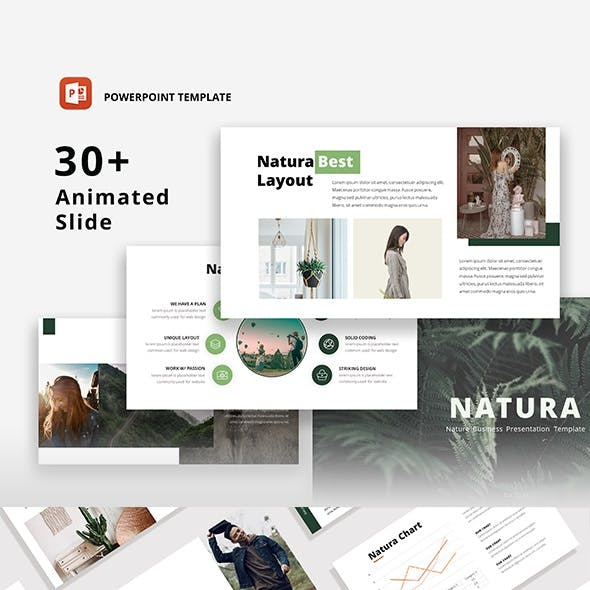Natura - Nature PowerPoint Template